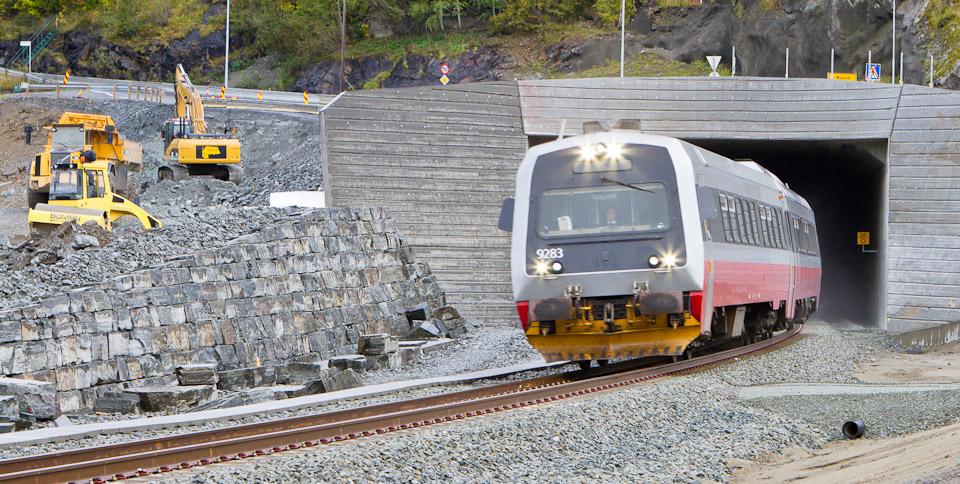 Gevingåsen jernbanetunell