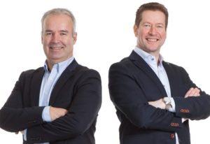 Heine Olsen (t.v) og Arild Paulsen (t.h) i Lean Team Norge AS.